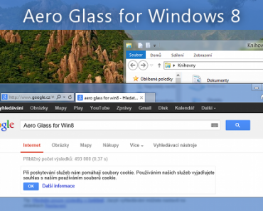 Aero glass di windows 8