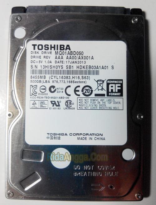ddisk internal laptop menjadi harddisk eksternal