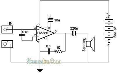 amplifier 386