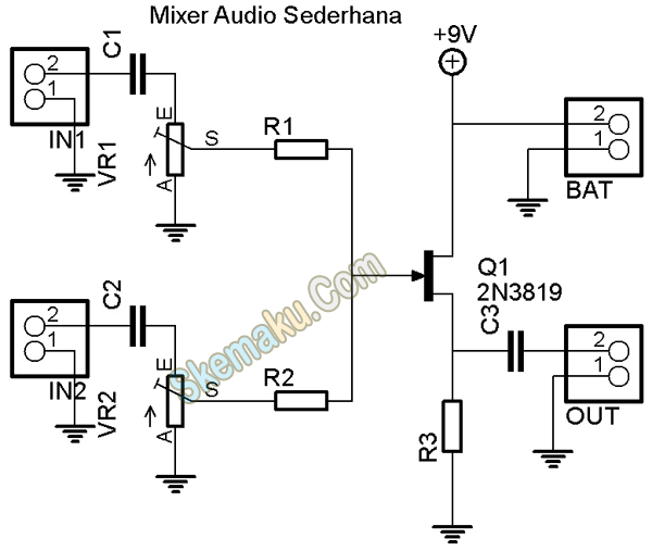 Audio Mixer FET