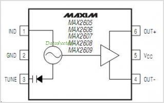 MAX2606-pinout