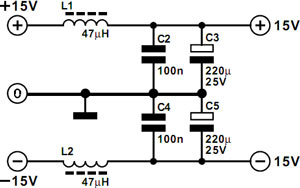 rangkaian-power-supply-pre-amp-mic-balance