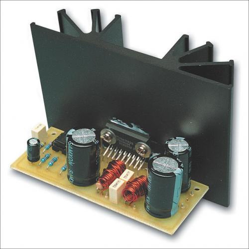 rangkaian amplifier kelas h 36w 70w tda1562q. Black Bedroom Furniture Sets. Home Design Ideas