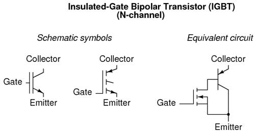 jenis transistor igbt