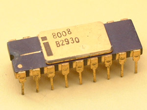 Sejarah processor: microprocessor 8008