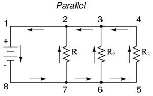 rangkaian listrik paralel resistor
