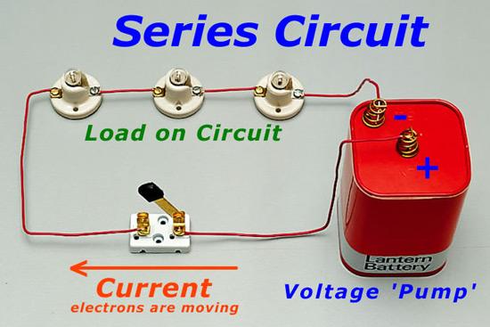 rangkaian listrik seri
