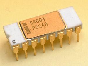 Sejarah processor: microprocessor 4004