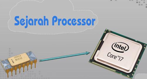 Sejarah processor