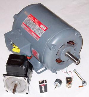 pengertian motor listrik