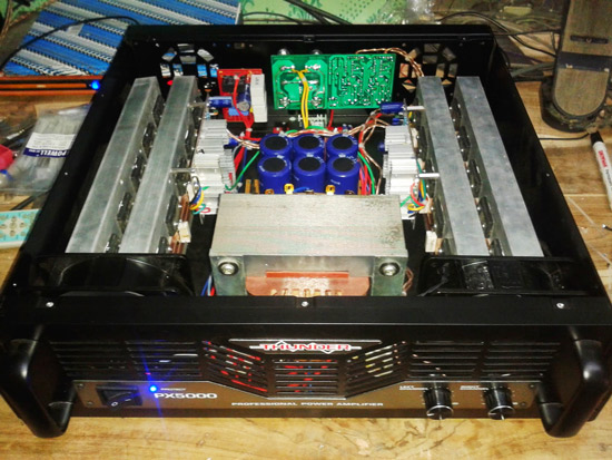 mas doyok hn service cara memodifikasi power amplifier rakitan agar bass makin mantap. Black Bedroom Furniture Sets. Home Design Ideas