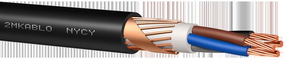Jenis-jenis kabel: kabel nycy