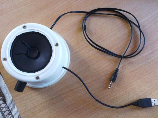 Membuat Rangkaian Speaker Aktif Sederhana dengan USB