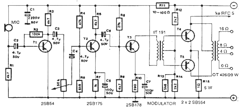 rangkaian modulator am