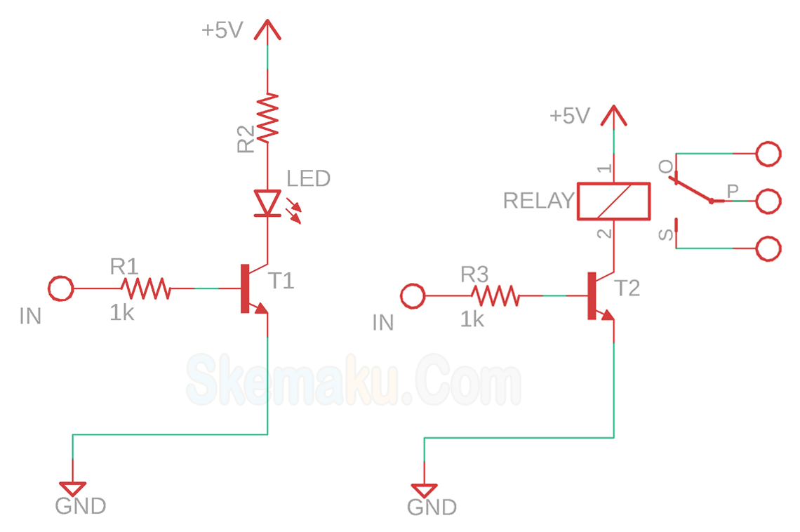 fungsi transistor sebagai saklar