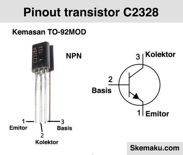 pinout transistor c2328